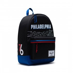 Herschel Supply Co x NBA Philadelphia 76ers Classic XL 600D Bag (black)