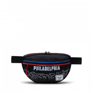 Herschel Supply Co x NBA Philadelphia 76ers Nineteen 600D Hip Bag (black)