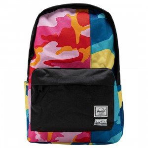 Herschel Supply Co x Andy Warhol Classic XL 600D Backpack (pink / pink camo / blue camo / black)