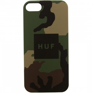 HUF iPhone 5 Case (camo / woodland camo)