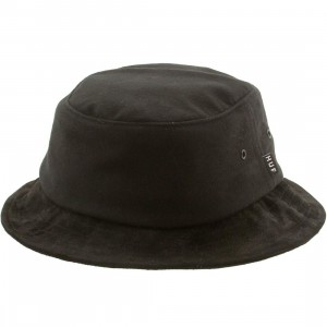 HUF Moleskin Bucket Hat (black)