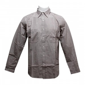 HUF Gingham Shirt (brown)