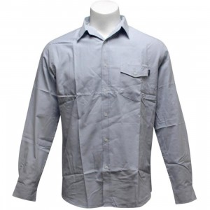 HUF Pocket Oxford Woven Shirt (powder blue)