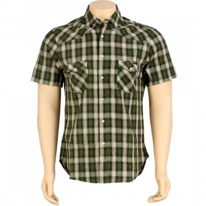 HUF The Shea Shirt (green)