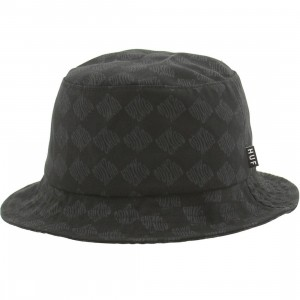 HUF Luxe Bucket Hat (black)