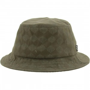 HUF Luxe Bucket Hat (olive)