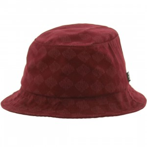 HUF Luxe Bucket Hat (wine)