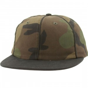 HUF Jackson 6 Panel Adjustable Cap (woodland camo)