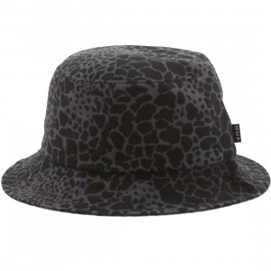 HUF Shell Shock Camo Bucket Hat (black / shell shock)