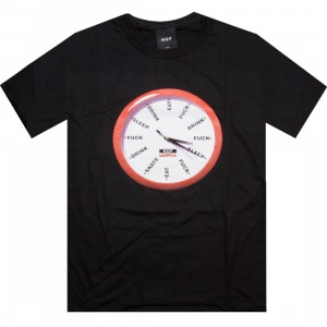 HUF x Skate Mental Clock Tee (black)