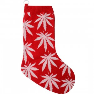 HUF Plant Life Stocking (red / white)