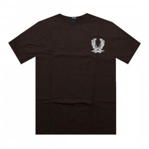 HUF Flight Tee (brown)
