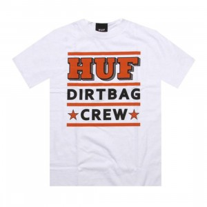 HUF 3 Stack Tee (white)