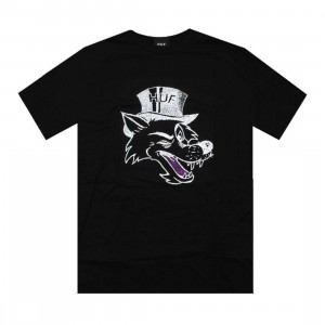 HUF Big Bad Tee (black)