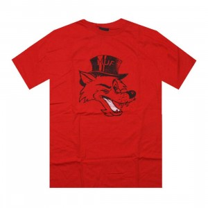 HUF Big Bad Tee (red)