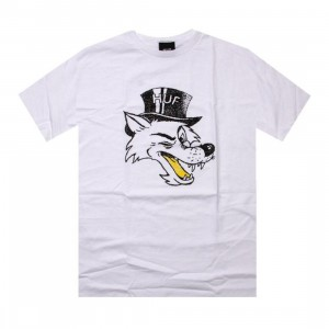 HUF Big Bad Tee (white)