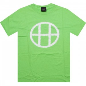 HUF Stitch Circle H Tee (lime)