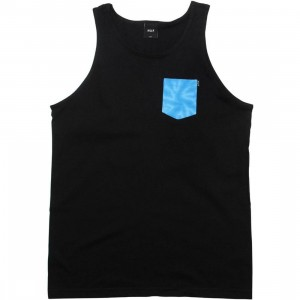 HUF Tie-Dye Pocket Tank Top (black)