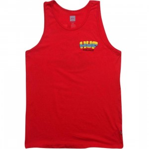 HUF Sombrero Tank Top (red)