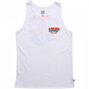 HUF Sombrero Tank Top (white)