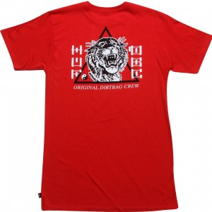 HUF Tiger HUF Tee (red)