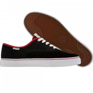 HUF Mateo (dust black / red)