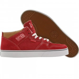 HUF 1 Vulc (red / white / tan)