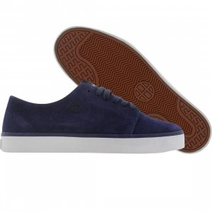 HUF Morton (deep navy / tan)