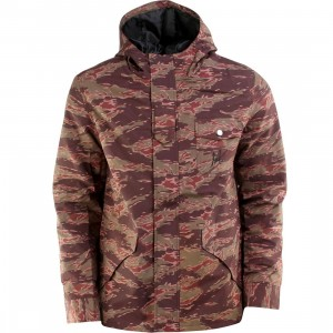 HUF Hooded Deck Jacket (camo / tiger camo)
