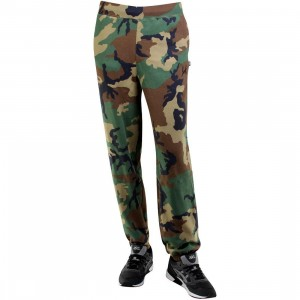 HUF Woodland Camo Fleece Pants (camo / woodland camo)
