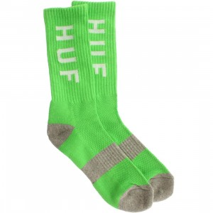 HUF Original Logo Coolmax Socks (green / lime) 1S