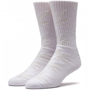 HUF Glow In The Dark Plantlife Socks (white) 1S