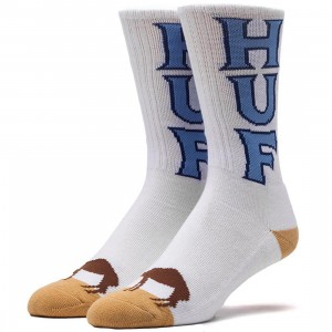 HUF Camel Toe Socks (white) 1S