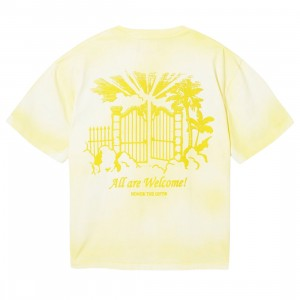Honor The Gift Men City Of Angels Tee (yellow / white)