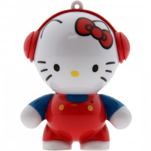 Hello Kitty Mobi Headphonies MP3 Speaker (white / red)