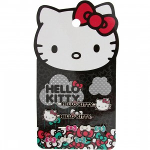 Hello Kitty Raining Bows Hairpins (silver / black / white)