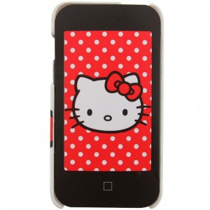 Hello Kitty Face iPod Touch 4G Case (white)