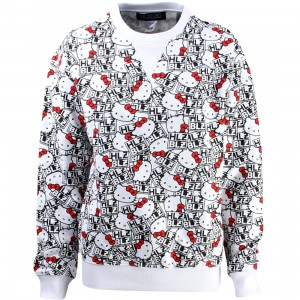 HLZBLZ x Hello Kitty Women Cant Stop Sweater (white)
