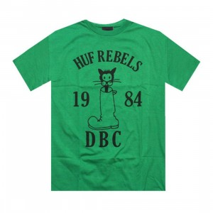 HUF Rebels Tee (kelly green)