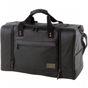 Hex Sneaker Duffel Bag (black)
