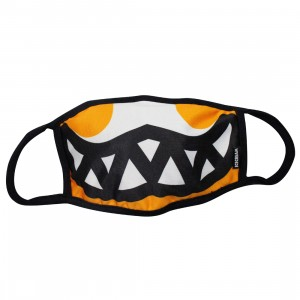 Ice Cream Grin Mask (yellow / radiant)