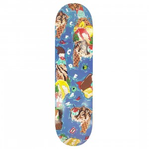 Ice Cream Ice Cream Island Skate Deck (blue)