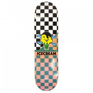 Ice Cream Brushed Skate Deck (black)