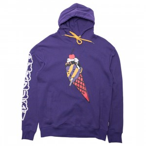 Ice Cream Men Cherry On Top Hoody (purple / heliotrope)