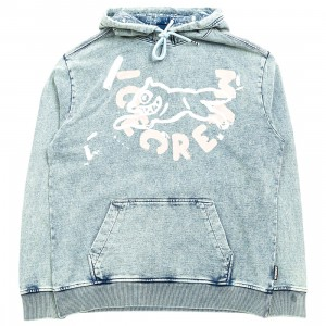 Ice Cream Men Stone Hoody (blue)