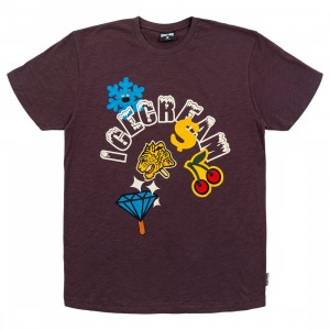 Ice Cream Men Melted Knit Tee (brown / shale)
