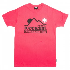 Ice Cream Men At The Top Tee (red)