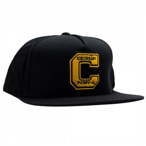 Ice Cream School Snapback Cap (black)