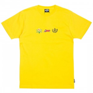 Ice Cream Men Toffee Tee (yellow / dandelion)