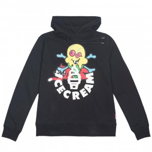 Ice Cream Men Licorice Hoody (black)
